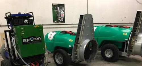 Agriozein's PTO Power Blast Sprayers